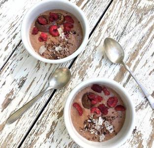 Himbeer-Porridge