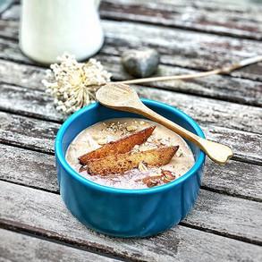 Bratapfel-Porridge
