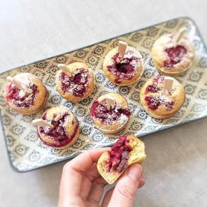 Buttermilch-Muffins mit Dattella