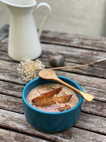 Birnen-Haselnuss-Porridge
