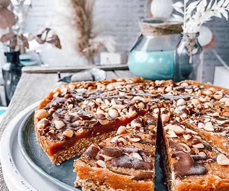 Nobake Peanut-Torte