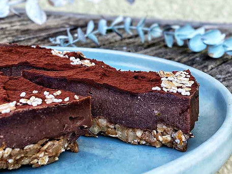 Cashew-Schokoladenmousse-Tarte