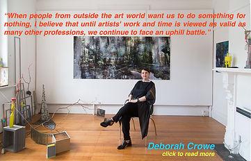 Deborah Crowe Artist With Issues FU INST