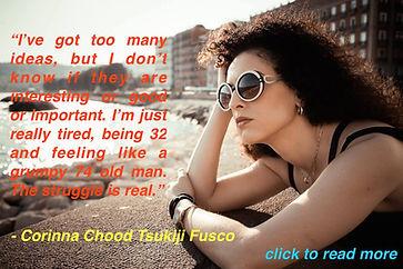 Corinna Chood Tsukiji Fusco Artist with