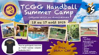 TCGG Handball Summer Camp