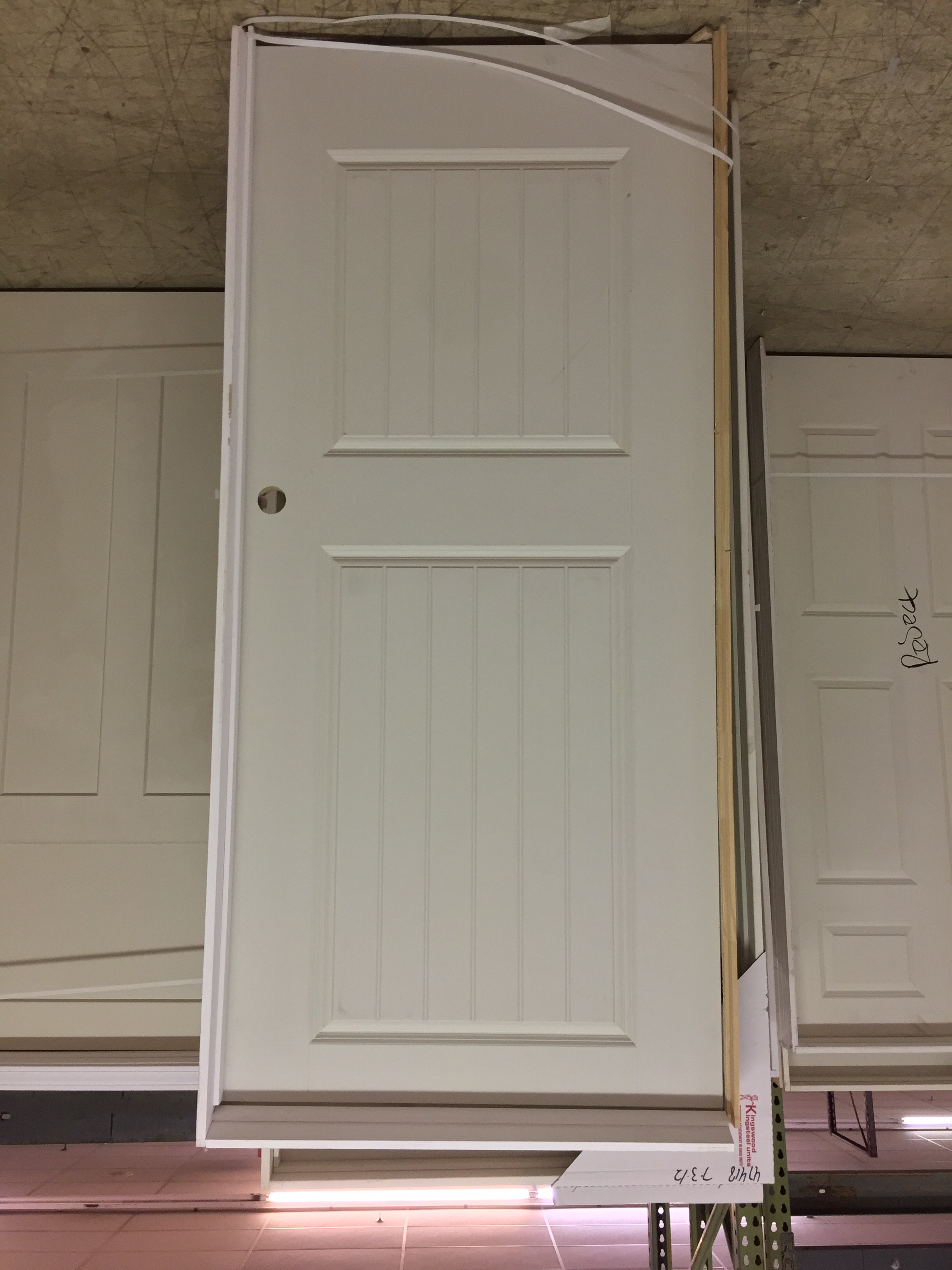 Many styles of interior doors
