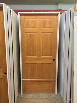 Beautiful wooden, interior doors