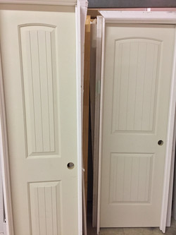 Vriety of sizes in interior doors