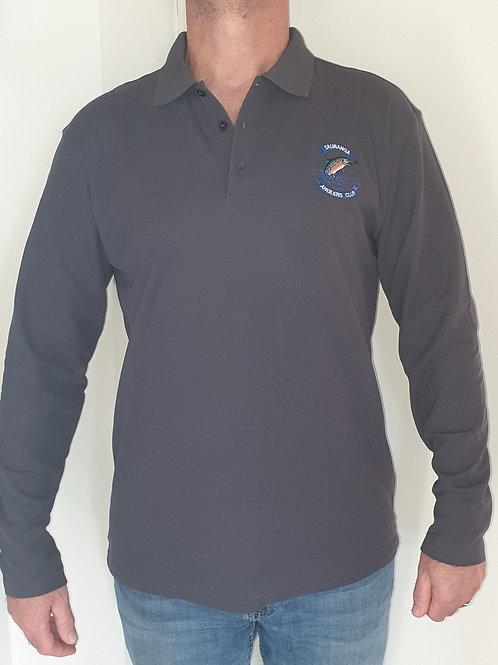 Crew polo long sleeved