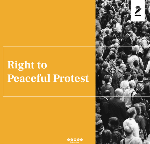 Right to Protest Peacefully