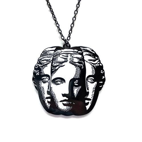 Split Pendant Necklace