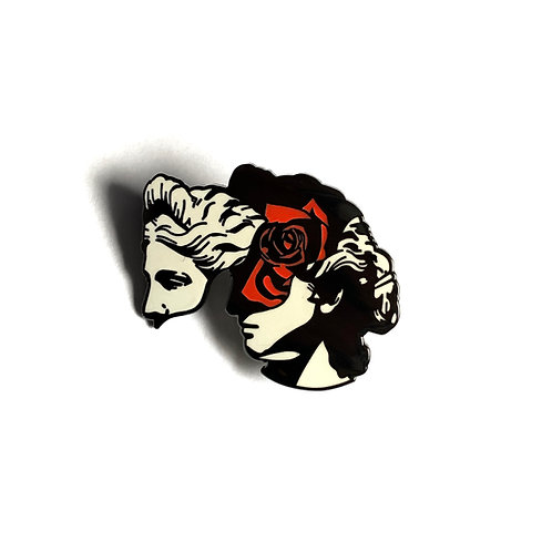 Inner Thoughts Pin