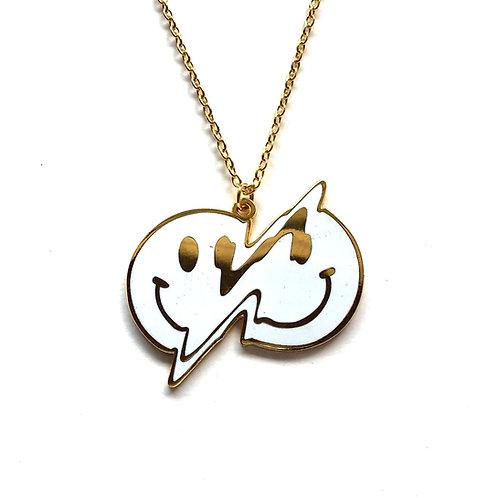 Smiley Pendant Necklace