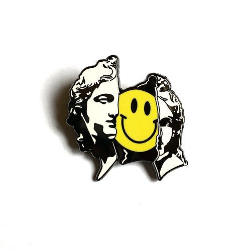 Happy Inside Pin