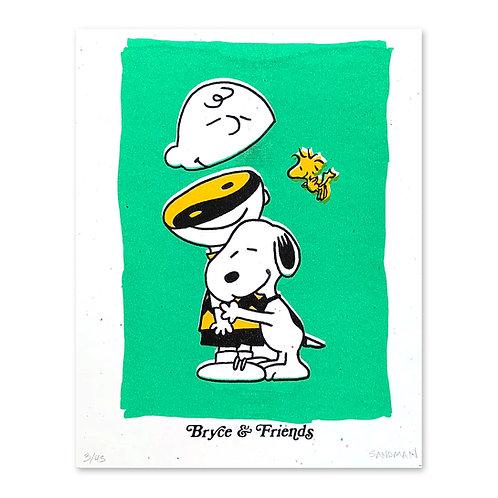 Bryce & Friends Peanuts Print