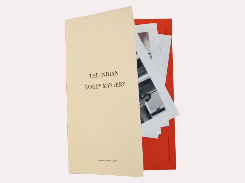 A 36 Page Publication of My Indian Family Mystery