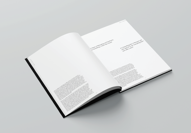Pages Out Of 'An Object of Importance' 50 page publication