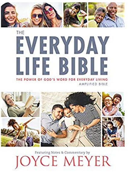 THE EVERYDAY LIFE BIBLE | JOYCE MEYER