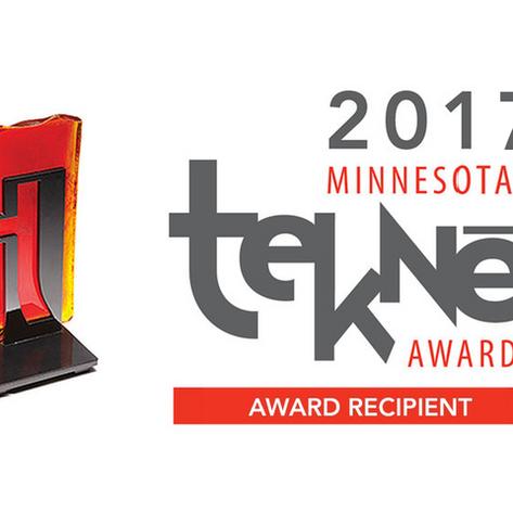 StemoniX wins the Teknē award!