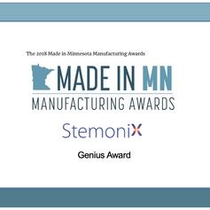 StemoniX wins the Genius Award!