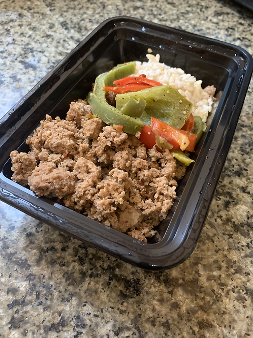 Ground Beef - Vegetable & Rice