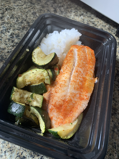 Salmon - Rice & Vegetables