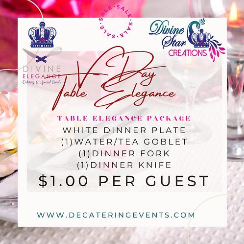 Table Elegance Package