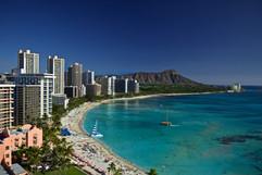 Waikiki with Diamond Head