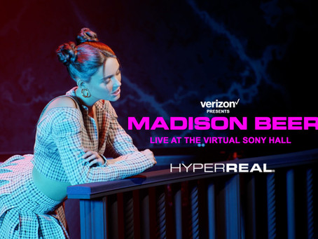 WATCH MADISON BEER'S HYPERMODEL PERFORM AT THE VIRTUAL SONY MUSIC HALL