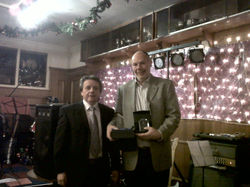 01 - Kevin Ward Winner of 2s and Stableford 2010.