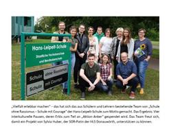 Hans-Leipelt-Schule spendet