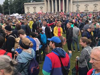 #ausgehetzt Demo in München