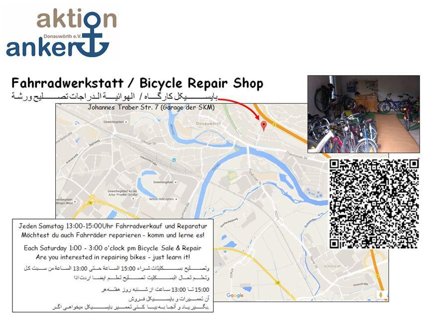 Flyer Fahrradwerkstatt