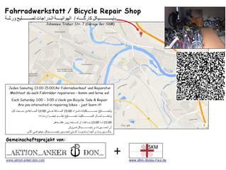 Weihnachtsferien der Anker Fahrradwerkstatt