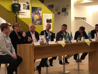 Podiumsdiskussion bei der Kolping Akademie Donauwörth