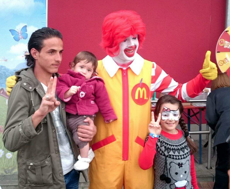 Mc Donalds Familientag