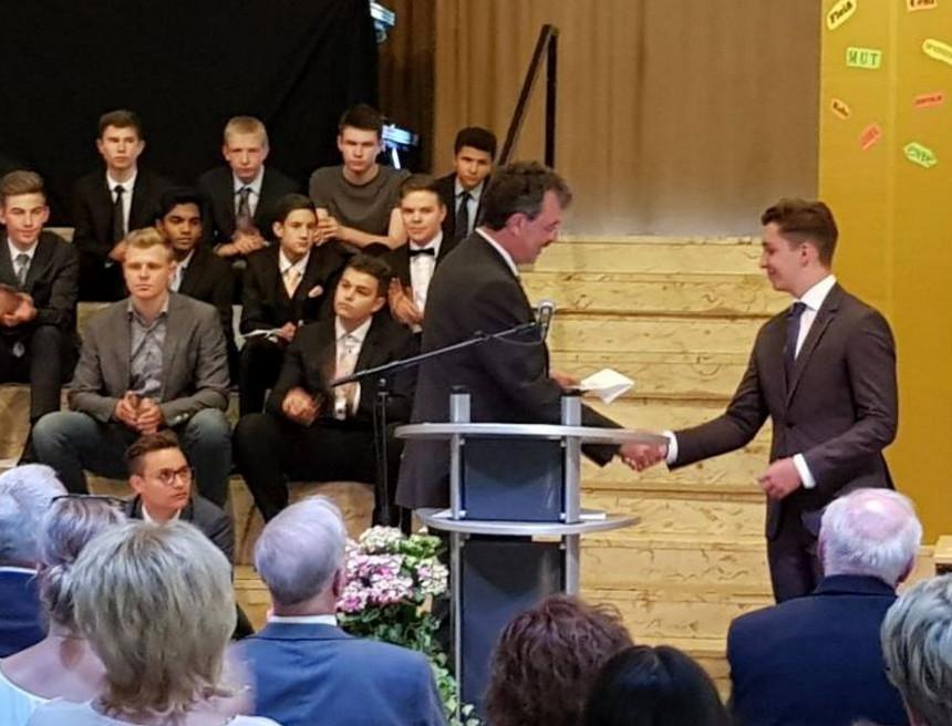 Auszeichnung für Paul Härpfer