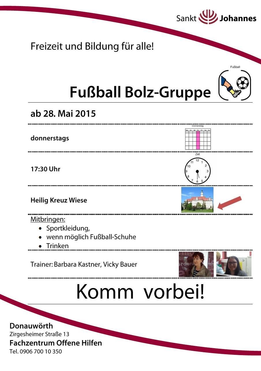 Fußball Bolz-Gruppe