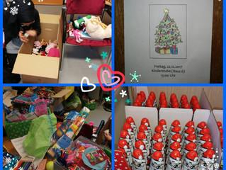 Danke an die Spender für die Kinderweihnachtsfeier in der EAE