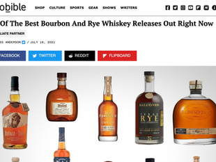 BROBIBLE: 22 Of The Best Bourbon And Rye Whiskey Releases Out Right Now