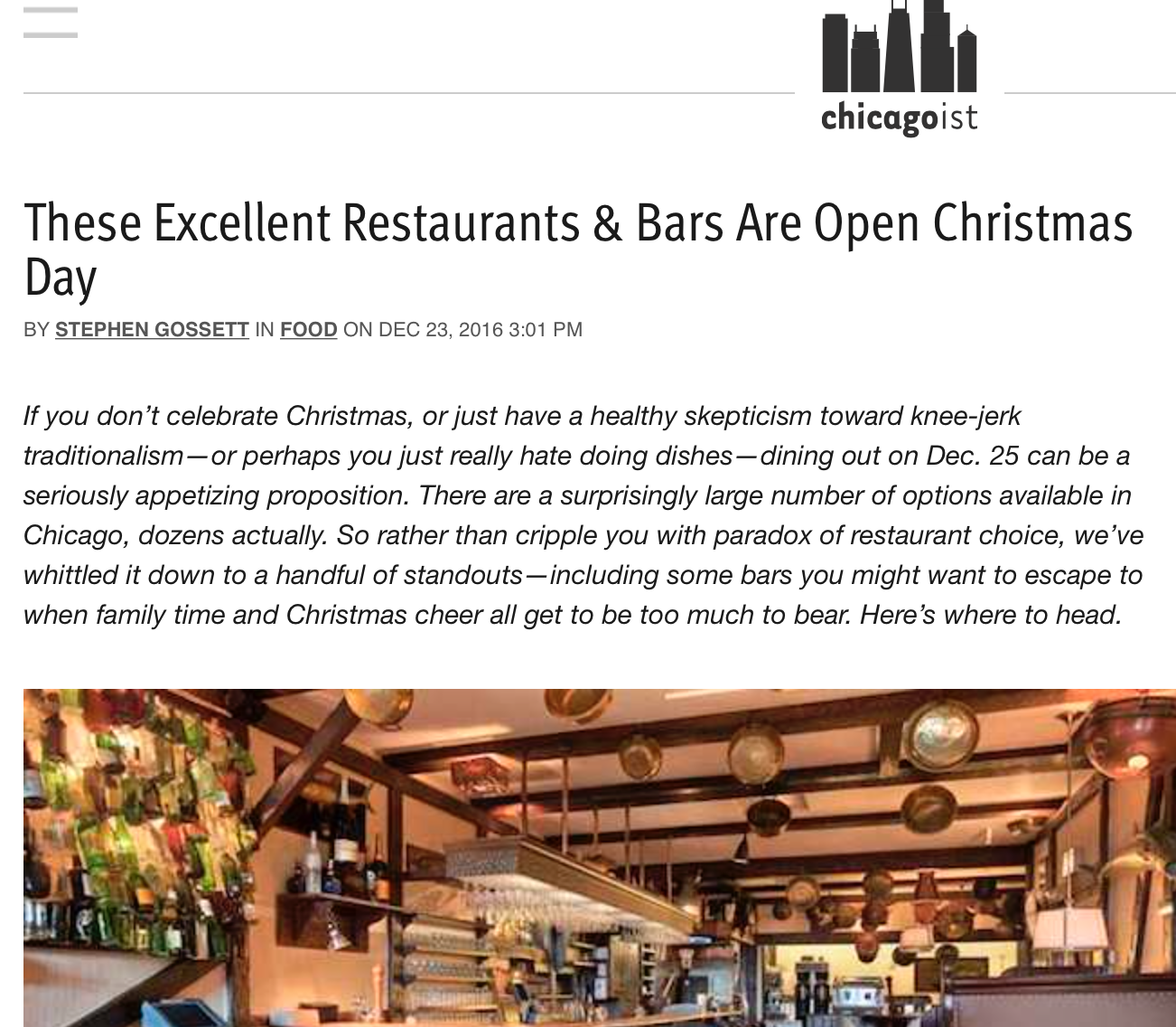 these excellent restaurants bars are open christmas day premier arcade bar craft beer event venue - Chicago Restaurants Open On Christmas