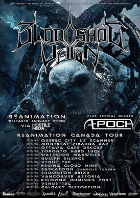 Bloodshot Dawn 'Reanimation' Out Now! Band Announce Canadian Tour!