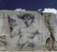 Bacchus, Bust the Drip, 2016 - Villars-Fontaine, Bourgogne | Bacchus et le Vin | Graffiti | Street Art | Exposition virtuelle | Le Musée Virtuel du Vin