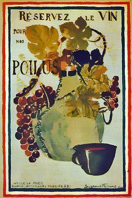 Réservez le vin pour nos poilus