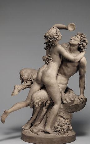 Ivresse, terre cuite, Clodion - The Metropolitan Museum of Art