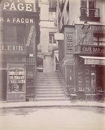 Eugène Atget, Passage Beaujolais, 47 rue Montpensier, 1er arr., 1906 - Musée Carnavalet, Paris   Le Musée Virtuel du Vin - The Virtual Wine Museum