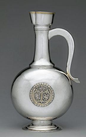 Carafe, argent en partie doré - The Metropolitan Museum of Art