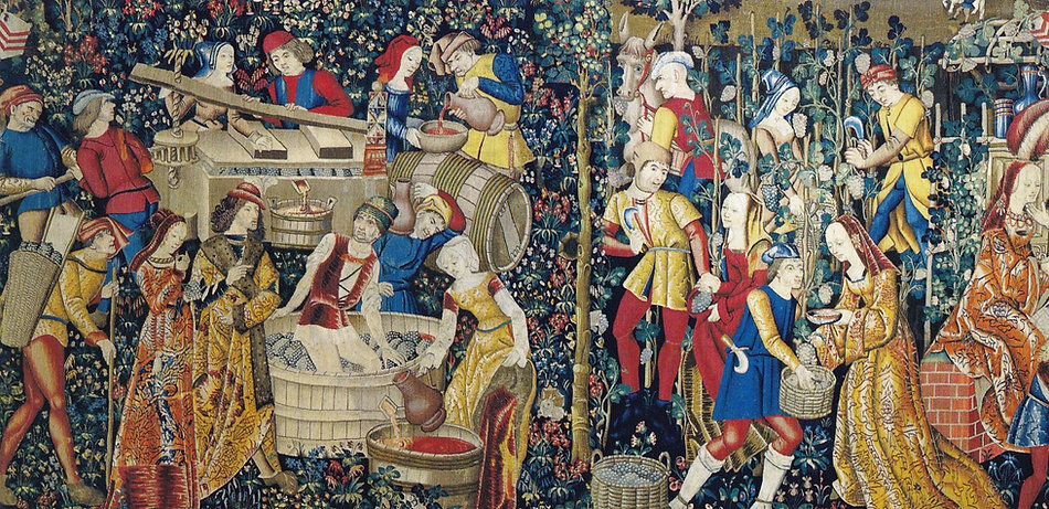 Harvest, Tapestry, Southern Netherlands, first quarter of the 16 th century - Musée de Cluny, Paris