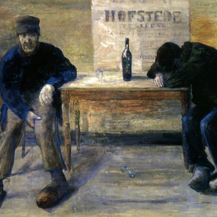 Les peintres et l'alcool
