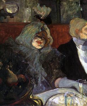 En Cabinet particulier, Au Rat mort - RAT MORT - Henri de Toulouse-Lautrec, 1899 - Courtauld Institute, Londres
